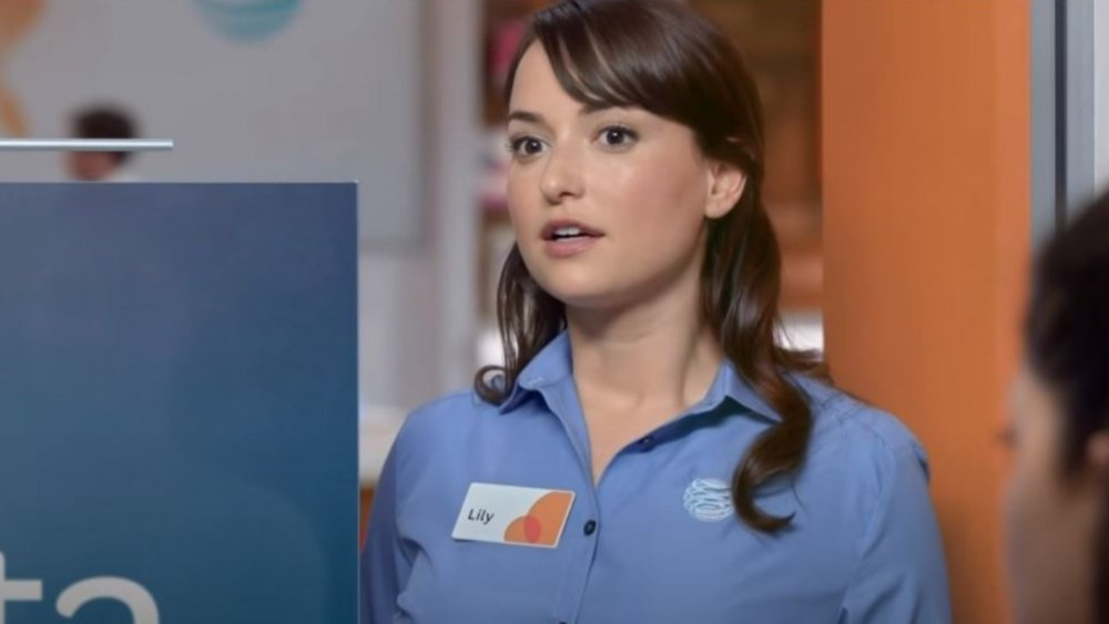 milana vayntrub,Lily from at&t,iheartradio,at&t girl,lily at&t,at&t girl,